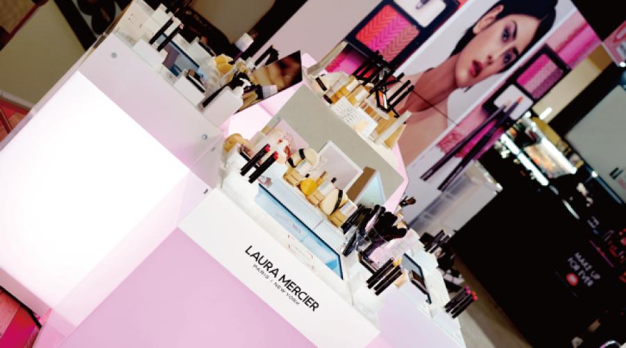 資生堂「LAURA MERCIER」にデジタルコンテンツを提供。デジタルメイクアップ体験や、インタラクティブな商品体験で ブランドエクスペリエンスの向上を目指す